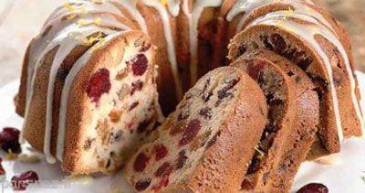 آموزش تهیه کیک میوه ای که شکر ندارد