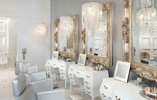 بهترین مدل دکوراسیون های آرایشگاه زنانه شیک