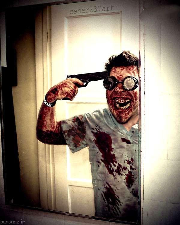 عکس های ترسناک مخصوص هالووین (18+)