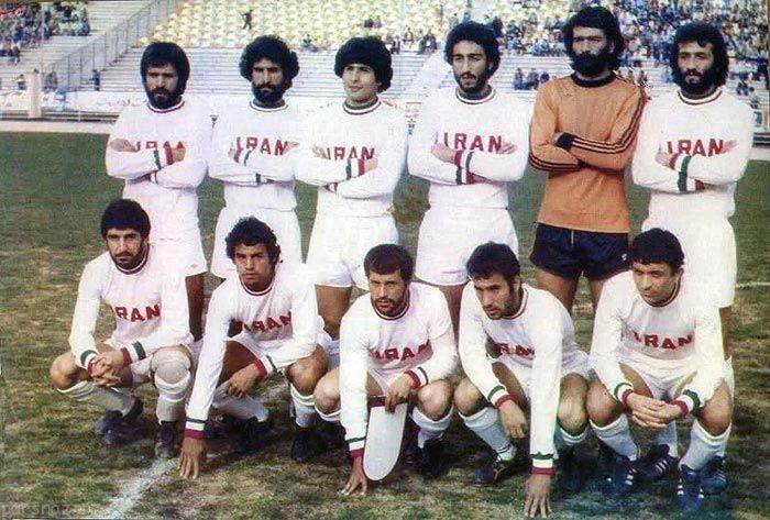 عکس های جدید و قدیم تیم ملی فوتبال ایران