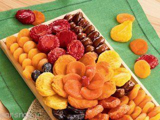 آموزش خشک کردن میوه ها در تابستان