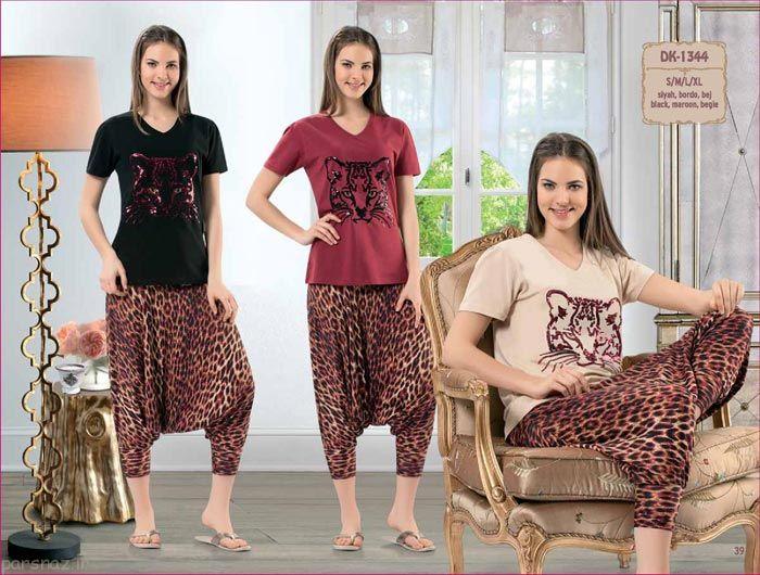 عکس های کامل از لباس راحتی شیک زنانه و دخترانه