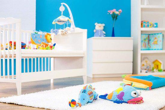 دکوراسیون های رنگارنگ برای اتاق خواب کودک