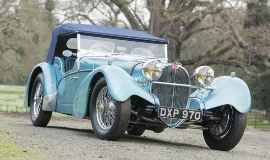 با قدیمی ترین ماشین بوگاتی تاریخ آشنا شوید