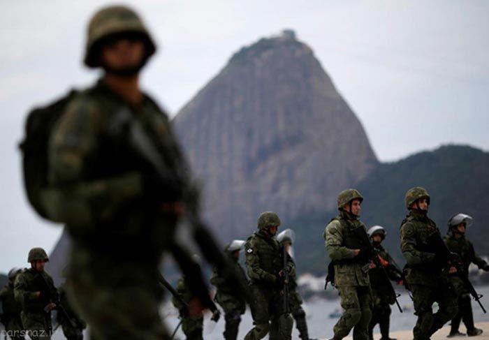المپیک ریو 2016 و اقدامات امنیتی مهم