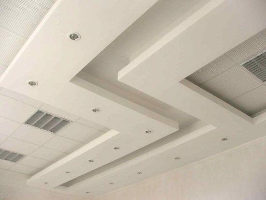 مدل های سقف کناف یا کاذب و مزایای آن