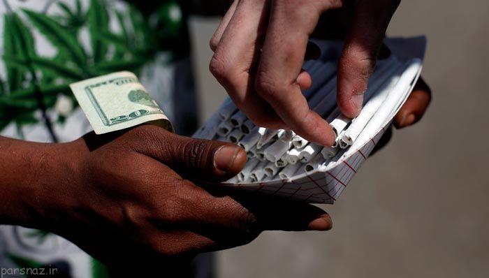 مصرف بیش از حد ماری جوانا بین جوانان آمریکا