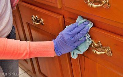 نکاتی درباره تمیز کردن کابینت های ام دی اف