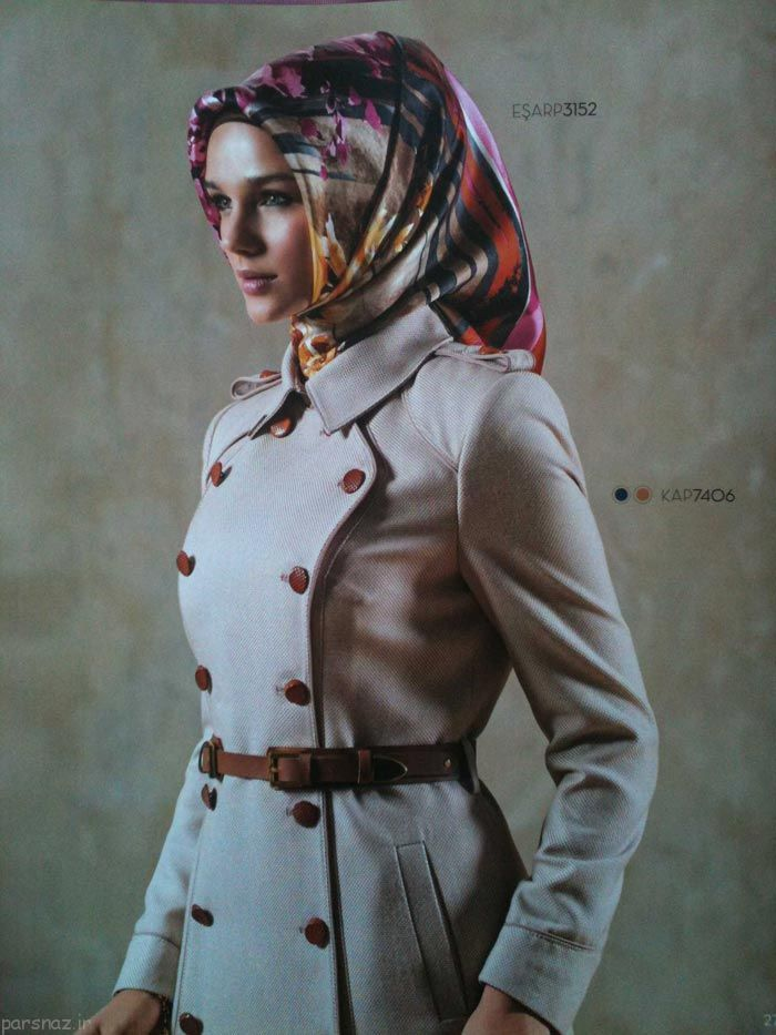 جدیدترین مدل های مانتو با حجاب کامل