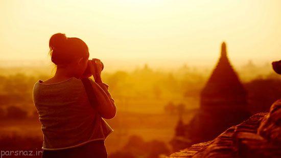 فواید تنهایی سفر کردن