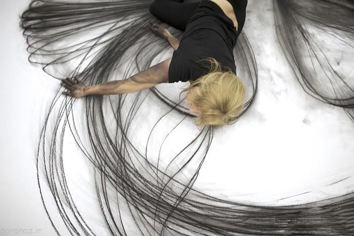 عکس های زیبا از این خانم رقاص هنرمند