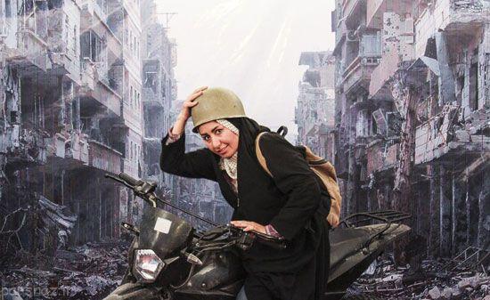 جنگ و بازتاب رسانه ای در عصر تکنولوژی +عکس