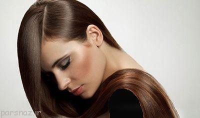 آرایش برای خانم هایی که موهای تیره دارند