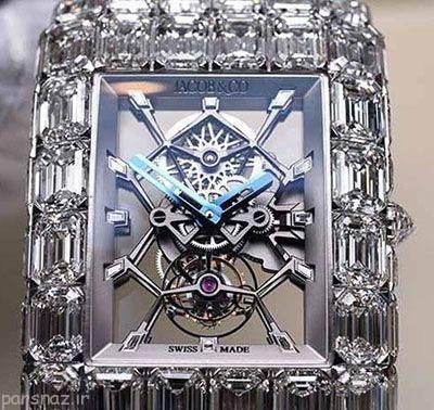 گران ترین ساعت الماس جهان مردانه است