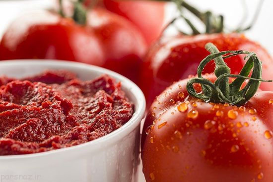 آموزش تهیه رب گوجه فرنگی عالی