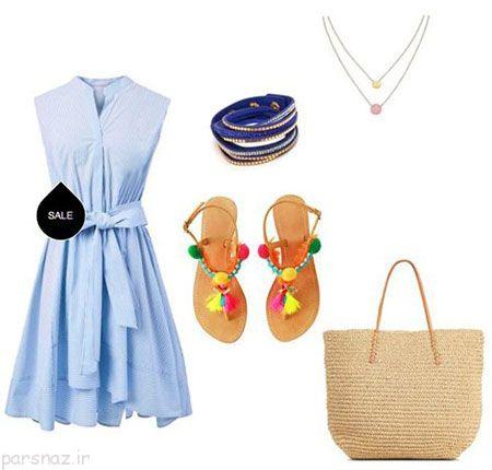 زیباترین ست های لباس به سبک تابستان