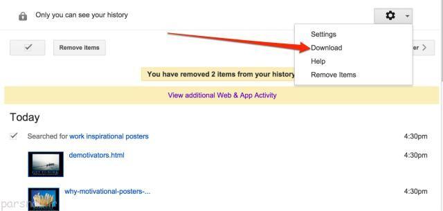 لزوم پاک کردن هیستوری (History) در اینترنت