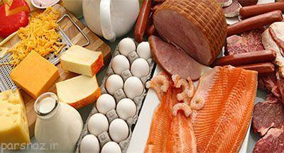 معرفی مواد غذایی که منبع پروتئین هستند