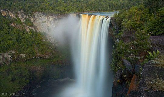 آبشارهای زیبا و دیدنی دنیا را ببینید