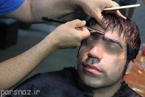 برخورد با برداشتن ابروی آقایان در آرایشگاه ها