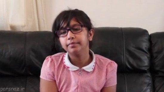 این دختر روزانه 8000 بار عطسه می کند