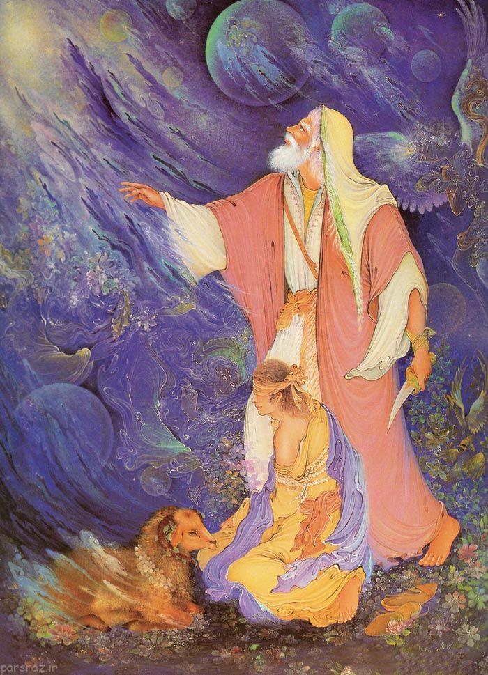 مجموعه عکس هایی دیدنی از نقاشی مینیاتور