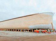 بالاخره ساخت کشتی غول پیکر نوح به پایان رسید
