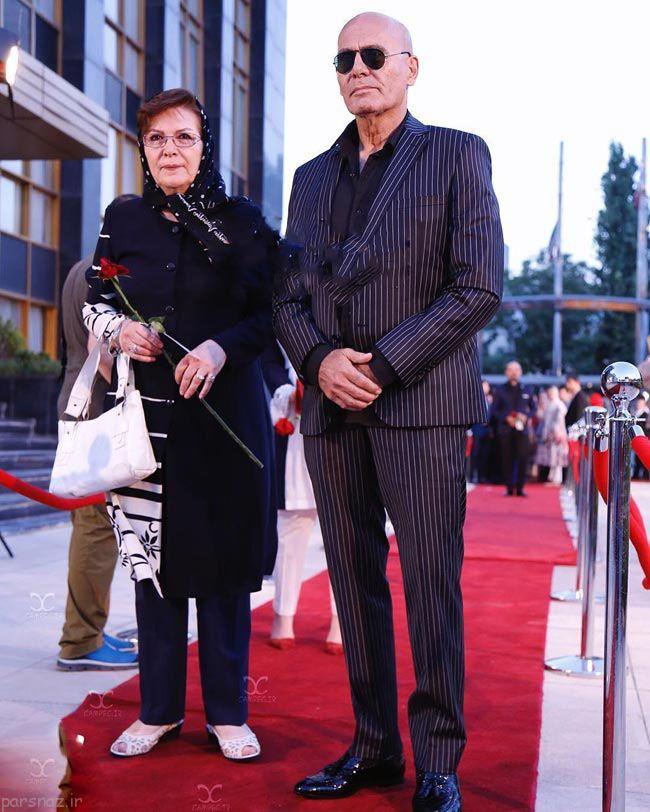 عکس های بازیگران روی فرش قرمز جشن تلویزیونی حافظ