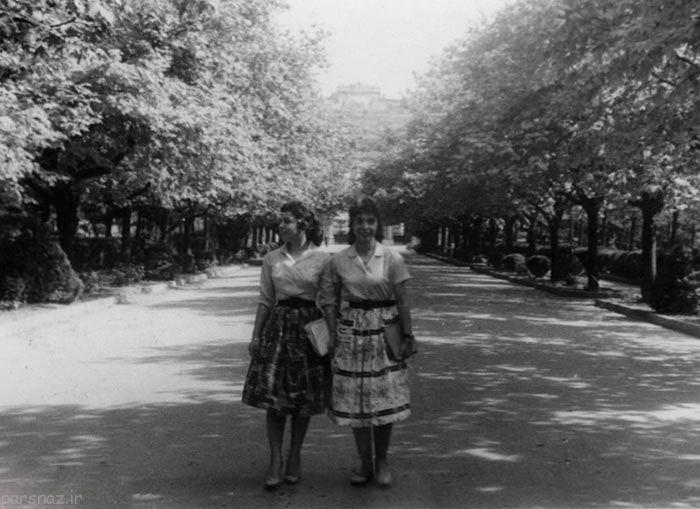کمبود زن در تهران در زمان های قدیم +عکس