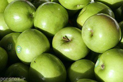 سیب سبز باعث جوان ماندن شما می شود