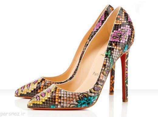 زیباترین مدل های کفش دنیا در سال 2017