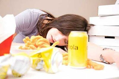 آیا شما هم پس از غذا خوردن احساس خستگی می کنید؟