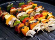 بیایید با هم کباب سبزیجات درست کنیم