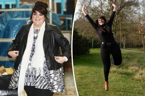 کاهش وزن شگفت انگیز خواننده زن انگلیسی