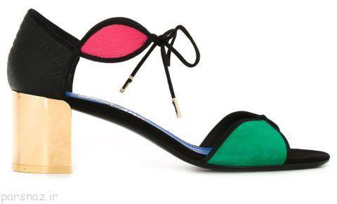 جدیدترین مدل های کفش پاشنه بلند تابستانی برای خانم ها