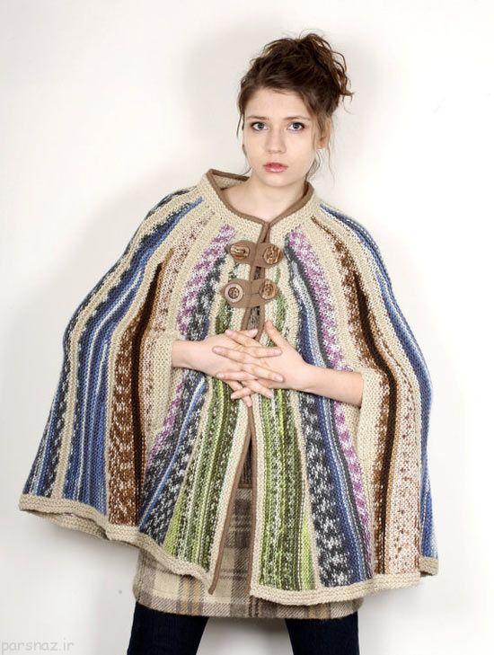 جدیدترین مدل های لباس بافتنی زنانه و دخترانه مد روز