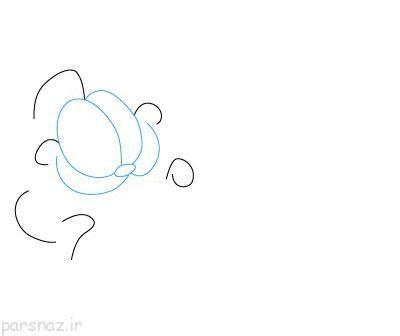 آموزش نقاشی کشیدن گارفیلد