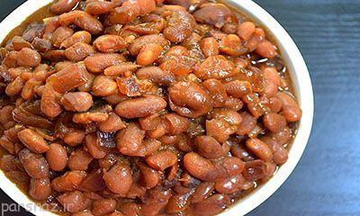 آموزش پخت خوراک لوبیای کبابی خوشمزه