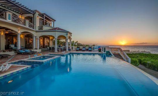 هزینه اقامت در لوکس ترین خانه های دنیا