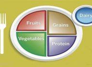 با هم یک بشقاب غذای سالم و مفید بخوریم