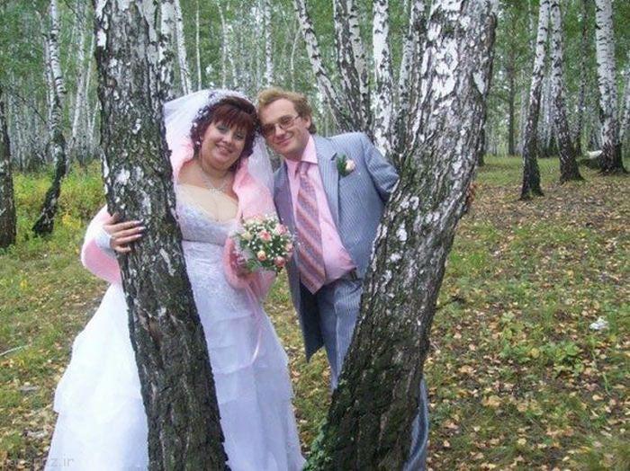 گالری عکس های خنده دار از عروسی های مختلف
