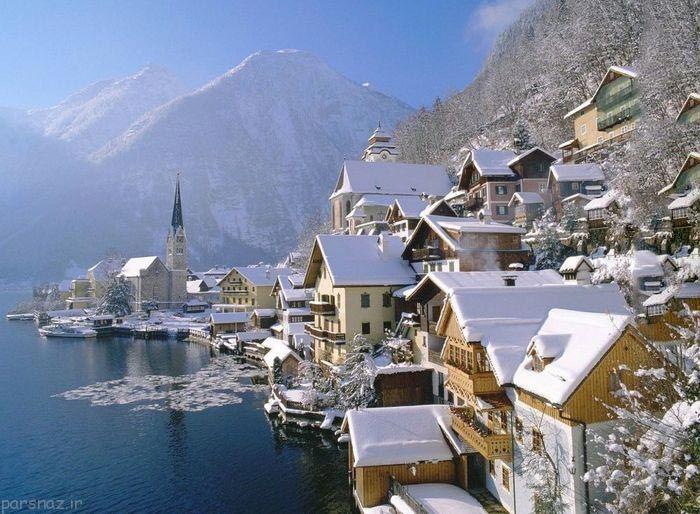 زمستان زیبا در نقاط مختلف جهان را ببینیم