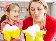 همکاری کودکان در انجام کارهای منزل