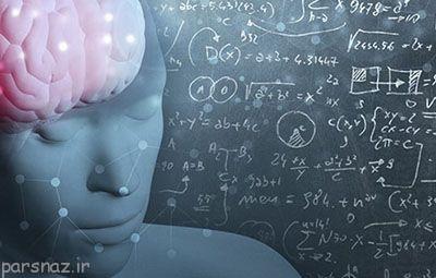 تصویر مغز انسان در حال حل مسائل ریاضی