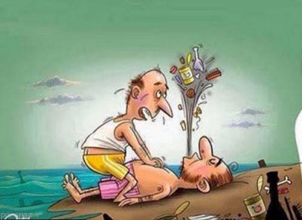 کاریکاتورهای معنی دار با موضوعات مختلف