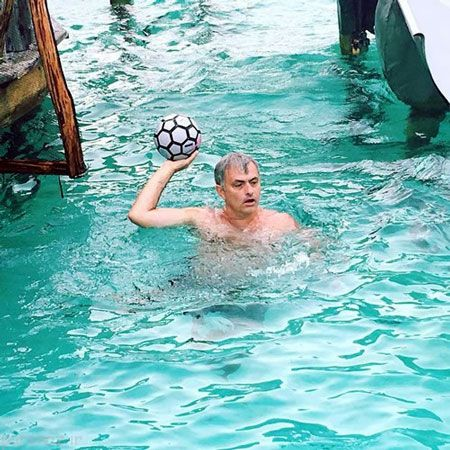 ستارگان فوتبال و گذراندن تعطیلات لوکس +عکس