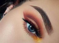 مدل های آرایش چشم  و ابرو جذاب و زیبا