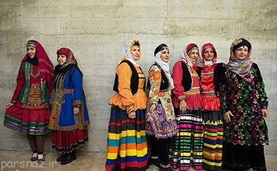 لباس سنتی زنان ایرانی را ببینیم
