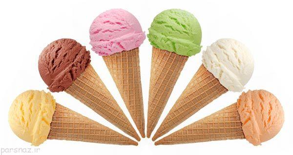 نکات مهم در مورد بستنی در تابستان