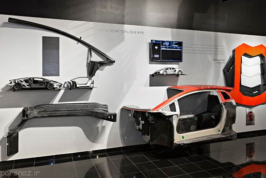 گزارش تصویری از ساخت ماشین لامبورگینی +عکس